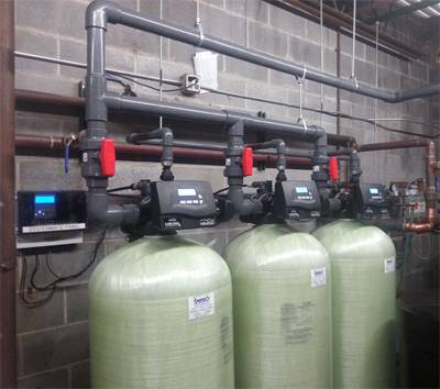Commercial Water Softening and Filtration