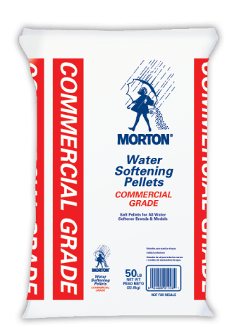 Bag of Morton Commercial Grade Salt