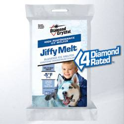 Bag of Jiffy Melt deicing salt