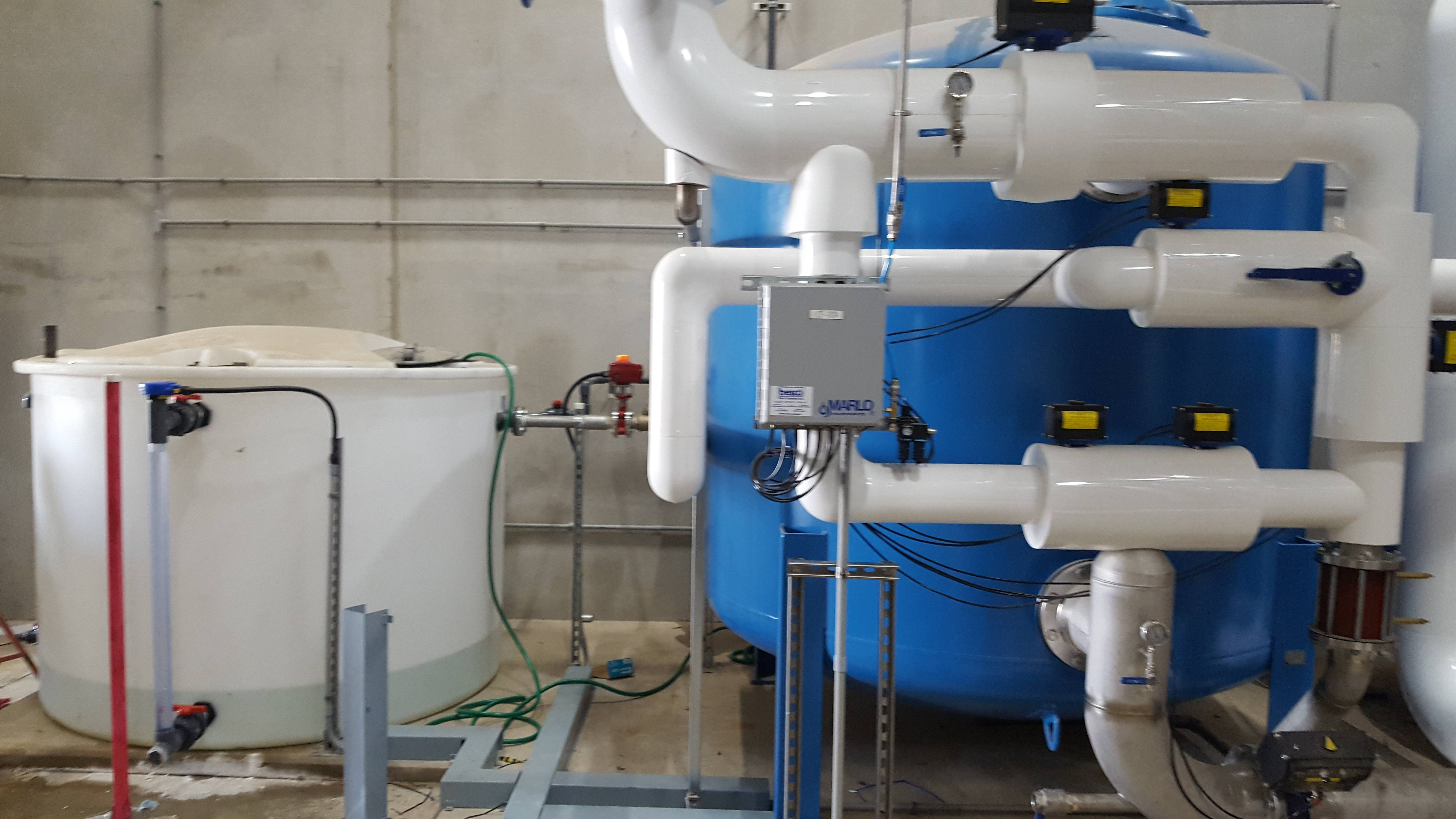 Commercial industrial water treatment case studies for Install consul