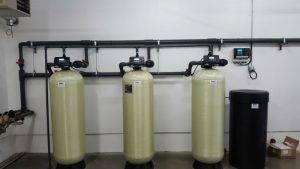 duplex water softener system